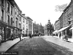 Tiverton, Fore Street 1920