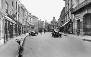 Tiverton, Fore Street 1930