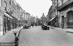 Tiverton, Fore Street 1930