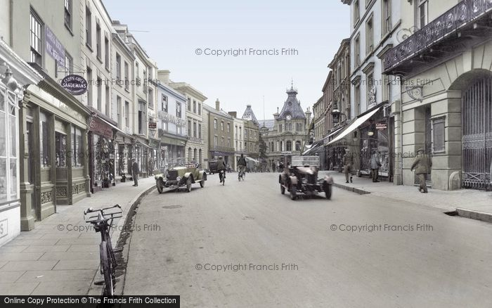 Photo of Tiverton, Fore Street 1930