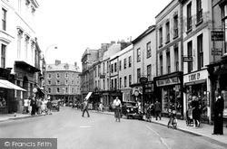 Tiverton, Fore Street c.1950