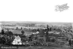 Tiverton, General View 1890