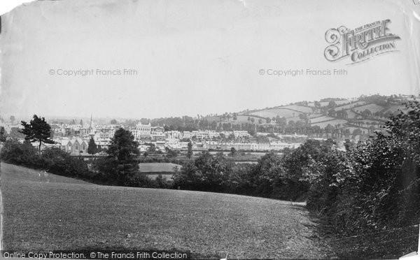 Photo of Tiverton, General View c.1869