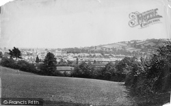 Tiverton, General View c.1869