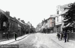 Tiverton, Gold Street 1903