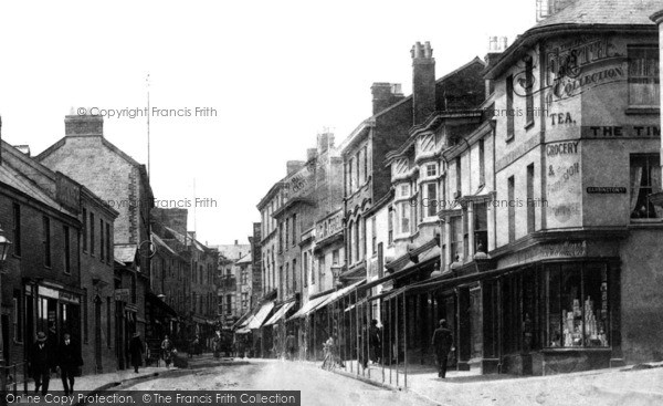 Photo of Tiverton, Gold Street 1903