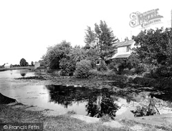 Tiverton, Grand Western Canal 1930