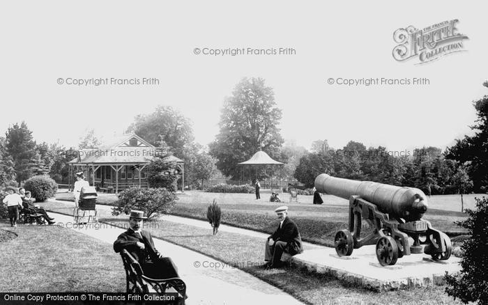 Tiverton, in the Park 1903