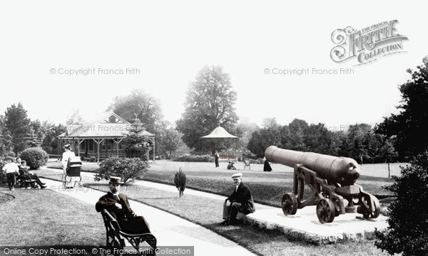 Photo of Tiverton, In The Park 1903