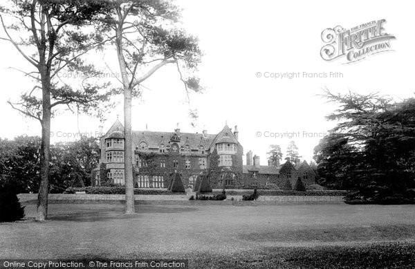 Photo of Tiverton, Knightshayes Court 1896