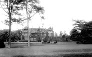 Tiverton, Knightshayes Court 1896