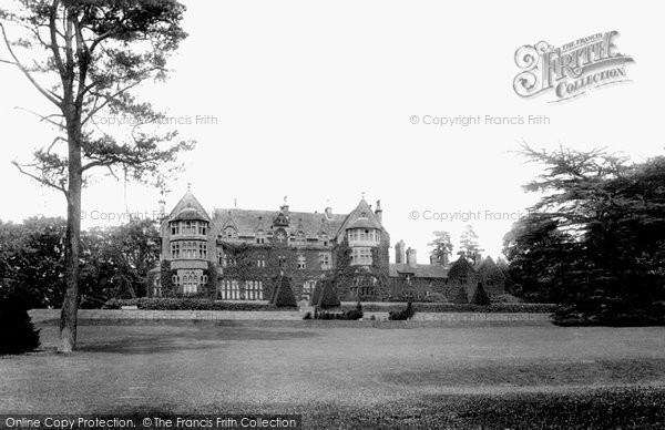 Photo of Tiverton, Knightshayes Court 1896