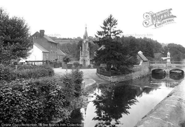 Photo of Tiverton, Lowman Bridge 1920