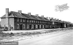 Tiverton, New Council Houses, Exeter Road c.1955