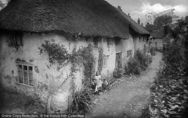 Photo of Tiverton, Old Cottages, Little Silver 1920