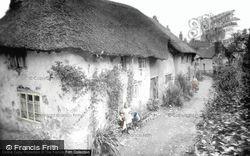 Tiverton, Old Cottages, Little Silver 1920