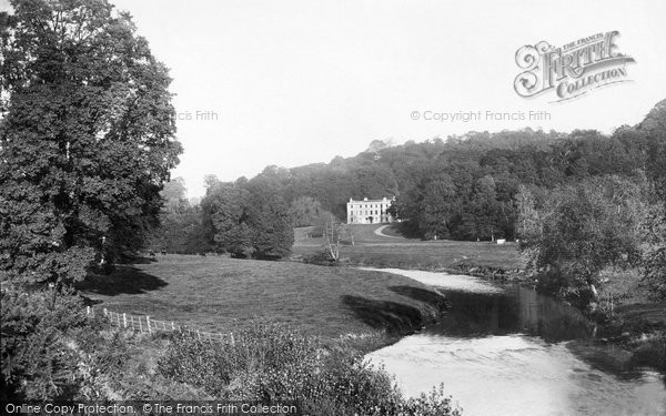 Photo of Tiverton, River Exe And Collipriest House 1890