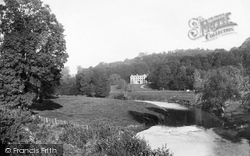 Tiverton, River Exe And Collipriest House 1890