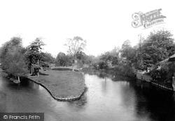 Tiverton, River Exe From The Bridge 1890