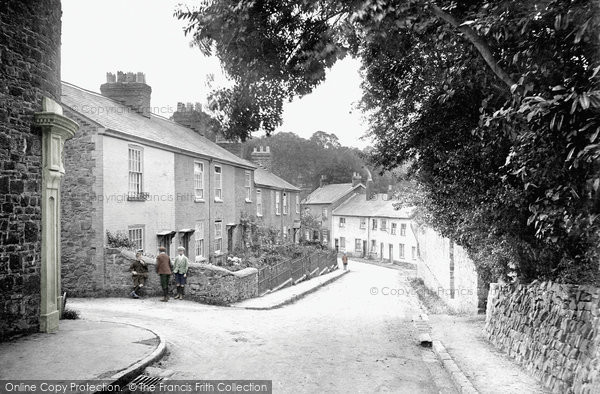 Photo of Tiverton, St Andrew Street 1920