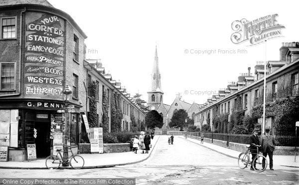 Photo of Tiverton, St Paul's Street 1920