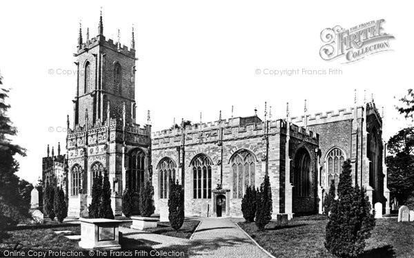 Photo of Tiverton, St Peter's Church 1890