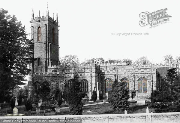 Photo of Tiverton, St Peter's Church 1890