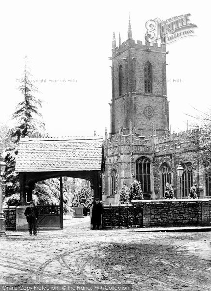 Photo of Tiverton, St Peter's Church 1907