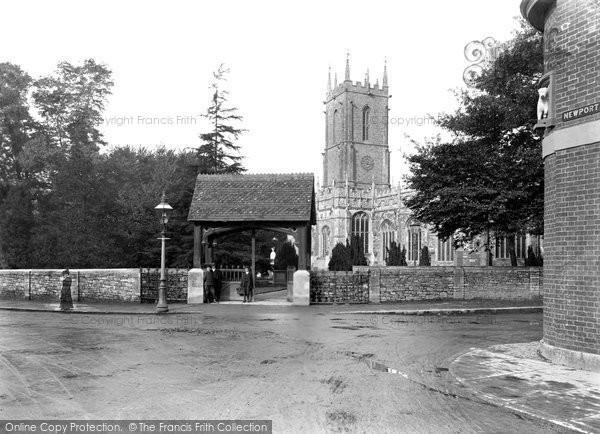 Photo of Tiverton, St Peter's Church 1907