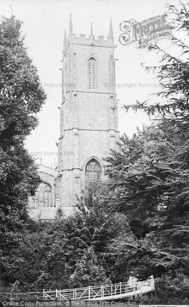 Photo of Tiverton, St Peter's Church 1914