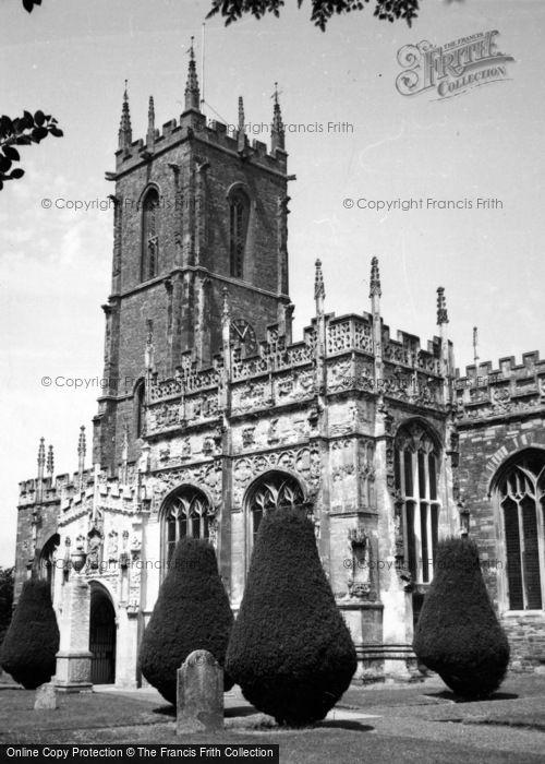 Photo of Tiverton, St Peter's Church 1959