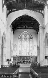 Tiverton, St Peter's Church Chancel 1896