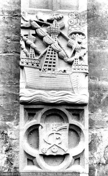 Photo of Tiverton, St Peter's Church, Greenway Chapel, 16th Century Armed Merchantman (Replica) c.1960