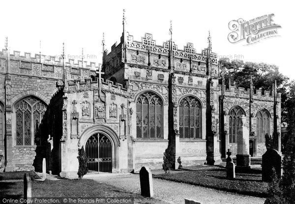 Photo of Tiverton, St Peter's Church, Greenway's Chapel 1890