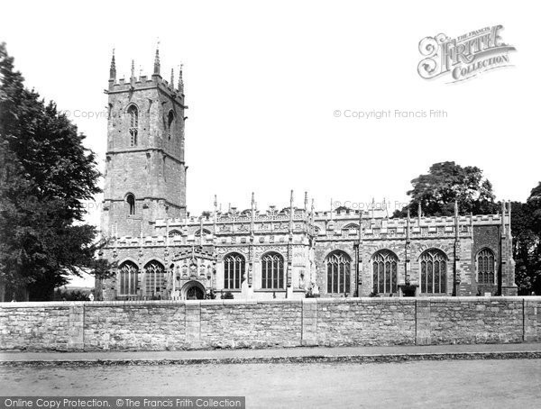 Photo of Tiverton, St Peter's Church, South Side c.1871
