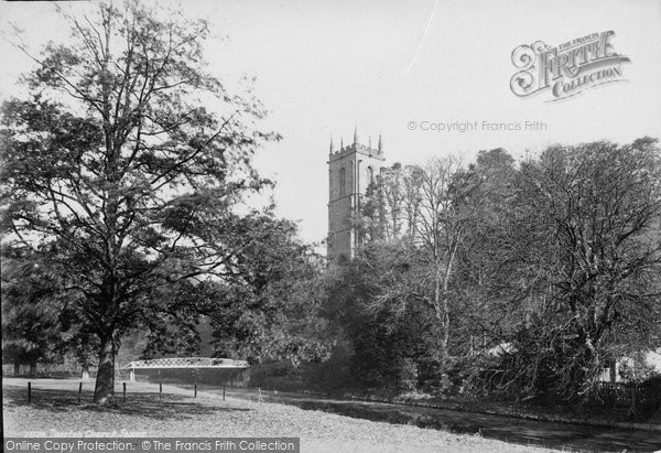 Photo of Tiverton, St Peter's Church Tower 1890