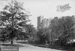 Tiverton, St Peter's Church Tower 1890
