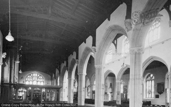 Photo of Tiverton, St Peter's Parish Church c.1955