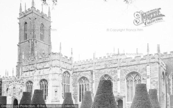 Photo of Tiverton, St Peter's Parish Church c.1960
