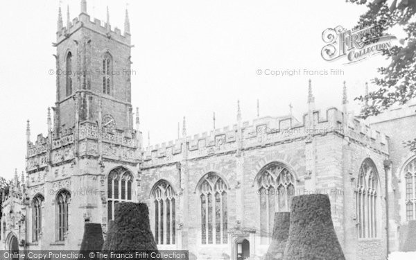 Photo of Tiverton, St Peter's Parish Church c.1960