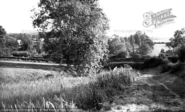 Photo of Tiverton, The Canal c.1955