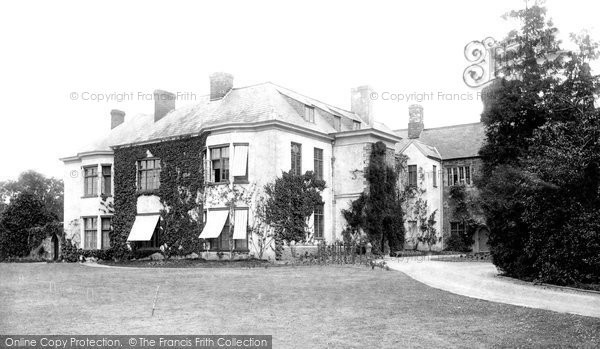 Photo of Tiverton, The Castle, New Portion 1896
