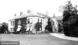 Tiverton, The Castle, New Portion 1896