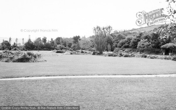 Photo of Tiverton, The Gardens c.1960