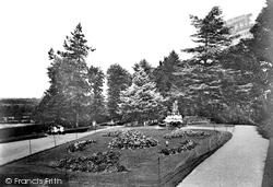 Tiverton, The Park 1920