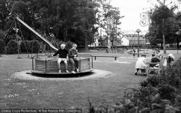 Photo of Tiverton, The Playground c.1960
