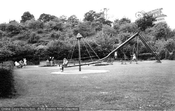 Photo of Tiverton, The Playground c.1960