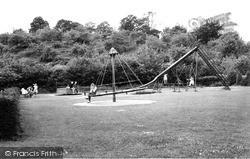 Tiverton, The Playground c.1960