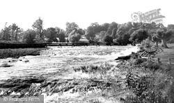 Tiverton, The Weir c.1955