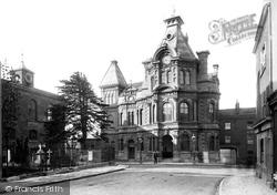 Tiverton, Town Hall 1890